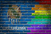 Dark Brick Wall - Lgbt Rights - Oklahoma
