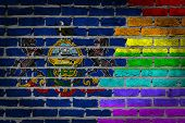 Dark Brick Wall - Lgbt Rights - Pennsylvania