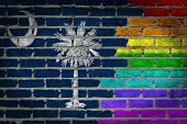 Dark Brick Wall - Lgbt Rights - South Carolina