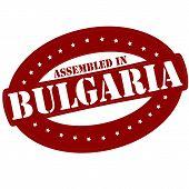 Assembled In Bulgaria