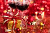 Gift And Wine For Holidays