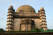 Backside Of Gol Gumbaz