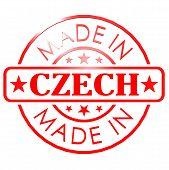 Made In Czech Republic Red Seal