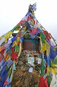 The Memorial Of Russian Climber Anatoli Boukreev In The Annapurna Base Camp, Nepal