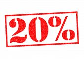 20% Rubber Stamp