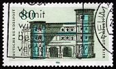 Postage Stamp Germany 1984 Black Gate, Trier