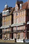 Apartment Buildings. Hove. E.Sussex. England