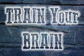 Train Your Brain Concept