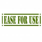 Ease For Use-stamp