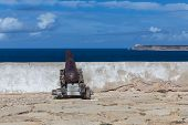 Cannon In The Fort Of Sagres
