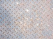 rusty and dirty iron plate texture