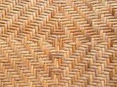 Handicraft Pattern Of Rattan Weave