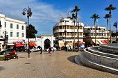 Square in Tangier City