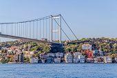 Istanbul Second bridge on the Bosphorus