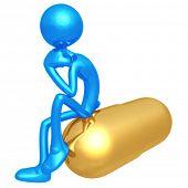 Giant Pill Thinker