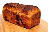 Raisin Cinnamon Bread Loaf