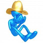 Depressed Cowboy