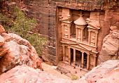 The Treasury. Ancient City Of Petra