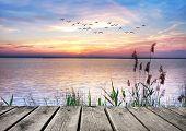 Lake of Dreams. HDR