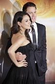 LOS ANGELES - FEB 2: Mila Kunis, Channing Tatum at the 'Jupiter Ascending' Los Angeles Premiere at TCL Chinese Theater on February 2, 2015 in Hollywood, Los Angeles, California