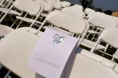 Reserved seats at a function