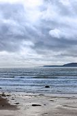 Stormy Rocky Beal Beach