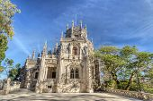 Manor Regaleira. The Ancient Castle In Portugal. Sintra.