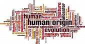 Human Origin Word Cloud