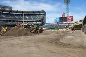 Angel Stadium Cleanup