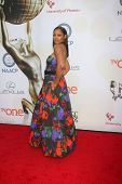 LOS ANGELES - FEB 6:  Garcelle Beauvais at the 46th NAACP Image Awards Arrivals at a Pasadena Convention Center on February 6, 2015 in Pasadena, CA