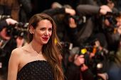 BERLIN, GERMANY - FEBRUARY 05: Julia Malik, Nobody Wants the Night premiere. Opening Ceremony. 65th Berlinale International Film Festival at Berlinale Palace on February 5, 2015 in Berlin, Germany.