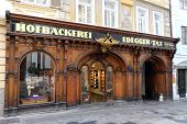 GRAZ, AUSTRIA - JANUARY 10, 2015: Tax Court Bakery in Graz, Styria, Austria on January 10, 2015.
