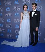 LOS ANGELES - JAN 16:  Keira Knightley & James Righton arrives to the Critics' Choice Awards 2015  on January 16, 2015 in Hollywood, CA