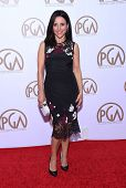 LOS ANGELES - JAN 24:  Julia Louis-Dreyfus arrives to the 26th Annual Producers Guild Awards  on January 24, 2015 in Century City, CA