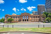 SYDNEY, AUSTRALIA - JAN 6, 2015:Mitchell Building of  public library on Jan 6, 2015 in Sydney, Australia.Mitchell Wing celebrated its centenary in 2010 and in the lead-up to its centenary (from 2001).