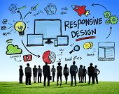 Responsive Design Internet Web Online Business Aspiration Concept