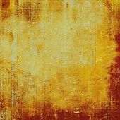 Vintage aged texture, colorful grunge background with space for text or image. With different color patterns: yellow (beige); brown; red (orange)