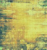 Vintage antique textured background. With different color patterns: yellow (beige); brown; green