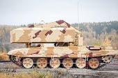 Buratino loading transport. TOS-1A system. Russia