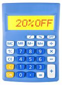 Calculator With 20Off