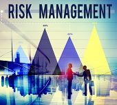 stock photo of hazardous  - Risk Management Danger Hazard Safety Security Concept - JPG