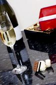 Wine And Chocolate Treat