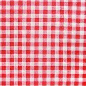 Постер, плакат: Red Linen Tablecloth background