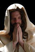 Portrait Of Jesusin Prayer