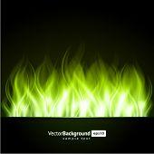 Brand vlam branden vector achtergrond