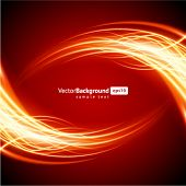 Fire flame burn vector background
