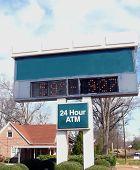 Bank Clock And Thrermometer