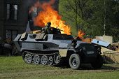 picture of flamethrower  - sdkfz - JPG