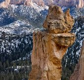 Cliff Inside Bryce Canyon