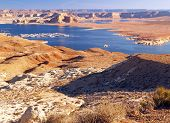 The Lake Powell In Glen Canyon Near Page